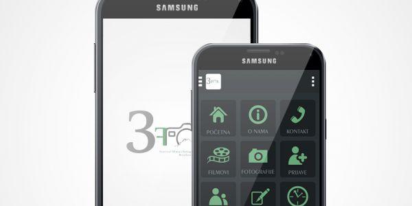 Android aplikacija o festivalu 3fok